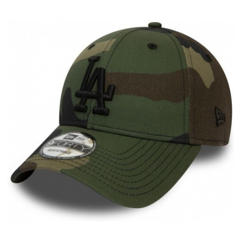 New Era 9FORTY MLB CAMO ESSENTIAL LOS ANGELES DODGERS dark green - Men's club baseball cap