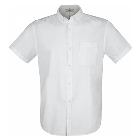 Produkt - Dobby Linen Shirt - Workershirt - white