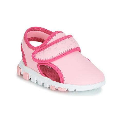 Reebok Sport WAVE GLIDER III girls's Children's Sandals in Pink