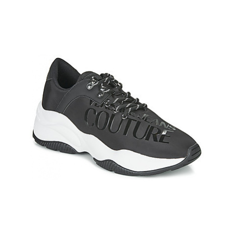 Versace Jeans Couture EOYUBSI9 men's Shoes (Trainers) in Black