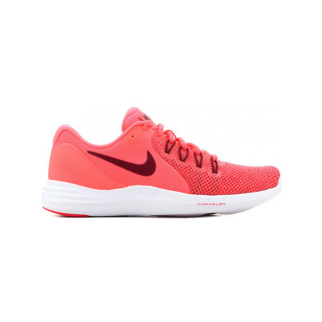 Nike Wmns Lunar Apparent 908998 600 women's Running Trainers in Pink