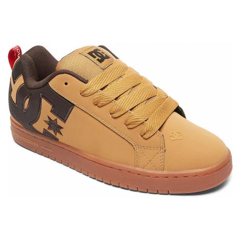 shoes DC Court Graffik SE - TTC/Wheat/Turkish Coffee - men´s