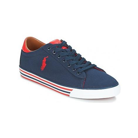 Polo Ralph Lauren HARVEY men's Shoes (Trainers) in Blue