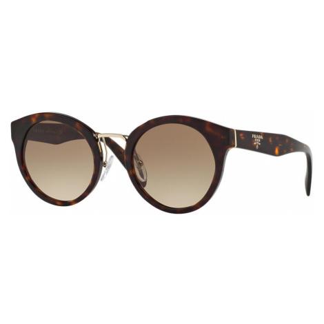 Prada Woman PR 05TS - Frame color: Tortoise, Lens color: Grey-Black, Size 53-23/140