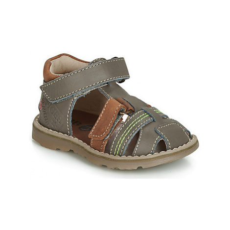 GBB SEVILLOU boys's Children's Sandals in Grey