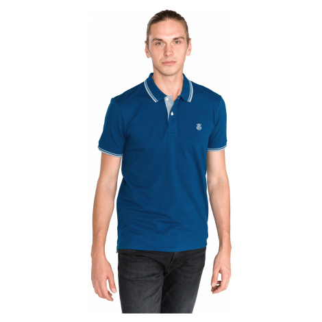 SELECTED Polo Shirt Blue