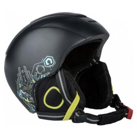Arcore NANO black - Children's ski helmet