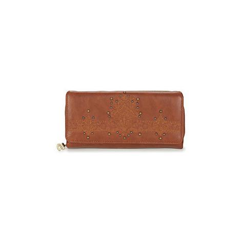 Desigual SOFT HENNA MARIA women's Purse wallet in Brown