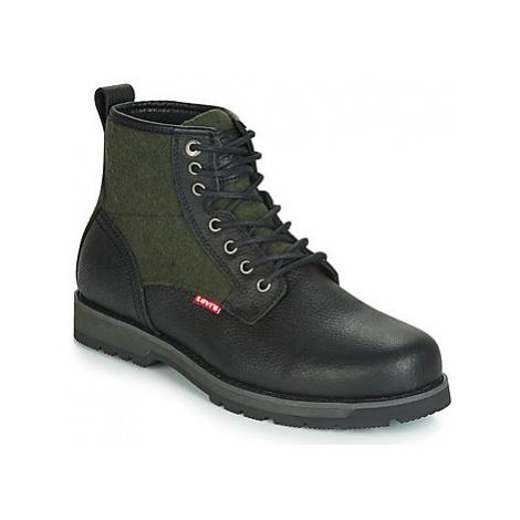 Levis LOGAN men's Mid Boots in Black Levi´s