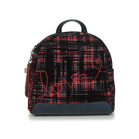 Black women's elegant backpacks