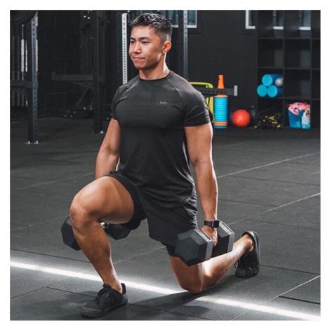MP Men's Performance Short Sleeve T-Shirt - Black/Carbon Myprotein