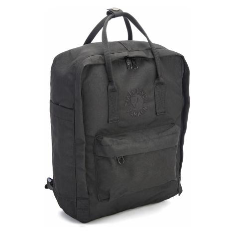 Fjallraven Re-Kanken Backpack - Black Fjällräven