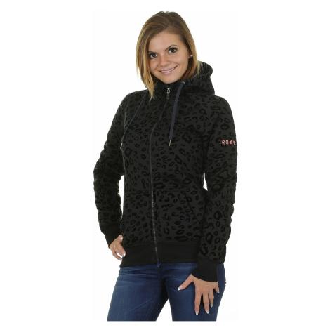 hoodie Roxy Resin Zip - KVJ0/Anthracite