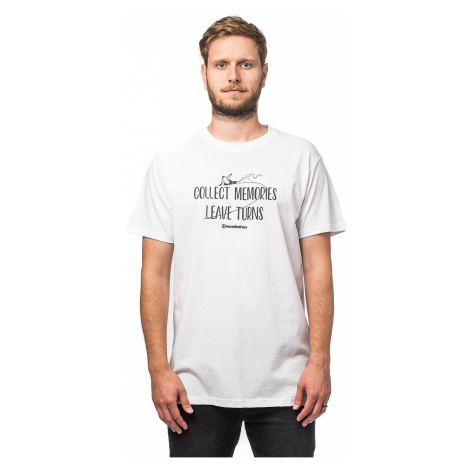 T-Shirt Horsefeathers Turns - White - men´s