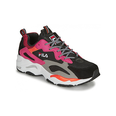 Fila RAY TRACER WMN women's Shoes (Trainers) in Black