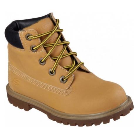 Skechers MECCA beige - Kids' winter shoes