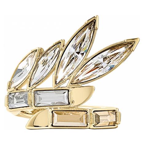 Wonder Woman Ring, Gold tone, Gold-tone plated Swarovski