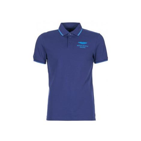 Hackett MOLI men's Polo shirt in Blue
