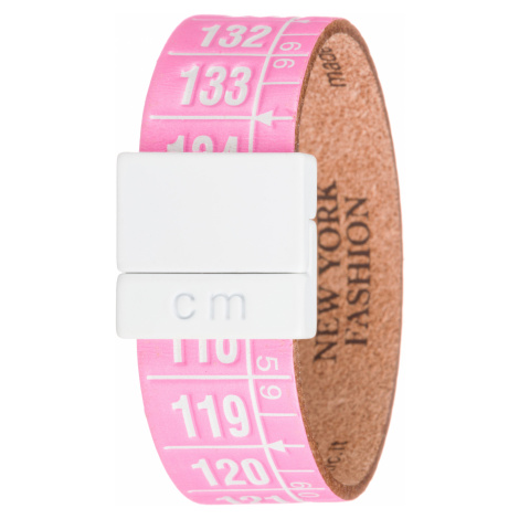 Il Centimetro New York Bracelet Pink White