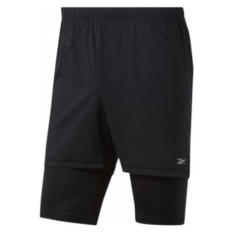 Reebok RE 2-1 SHORT black - Men's running shorts