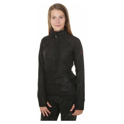 sweatshirt Roxy Cascade - KVJ8/True Black/Indie Stripes Embos - women´s