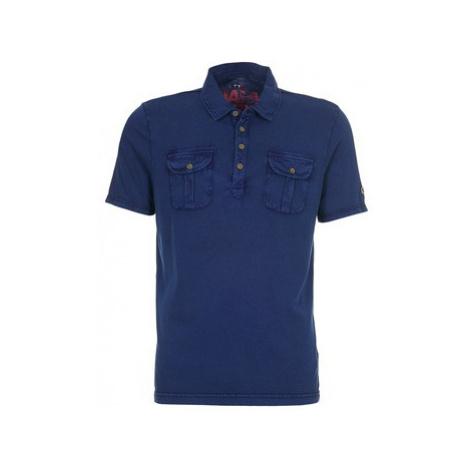 Napapijri ELLIS A men's Polo shirt in Blue