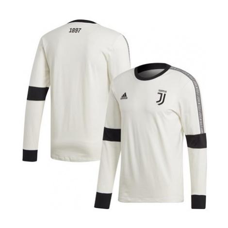 Juventus Seasonal Long Sleeve Tee - White Adidas