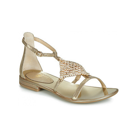 Fru.it 5420-279 women's Sandals in Gold