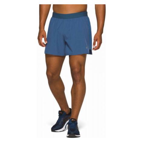 Asics ROAD 2-N-1 5IN SHORT blue - Men's running shorts