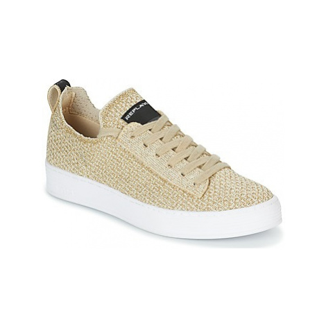 Replay DROW W women's Shoes (Trainers) in Gold