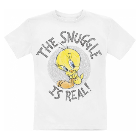 Looney Tunes Tweety - The Snuggle Is Real! T-Shirt white