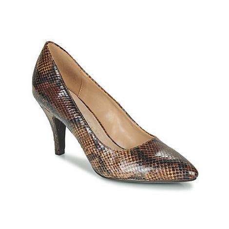 Moony Mood FURETTE women's Court Shoes in Beige