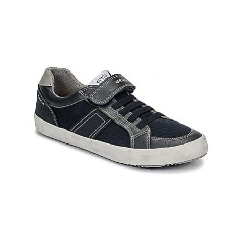 Geox J ALONISSO BOY boys's Children's Shoes (Trainers) in Blue