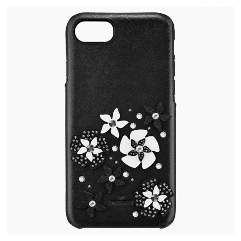 Mazy Smartphone Case with integrated Bumper, iPhone® 8, Black Swarovski