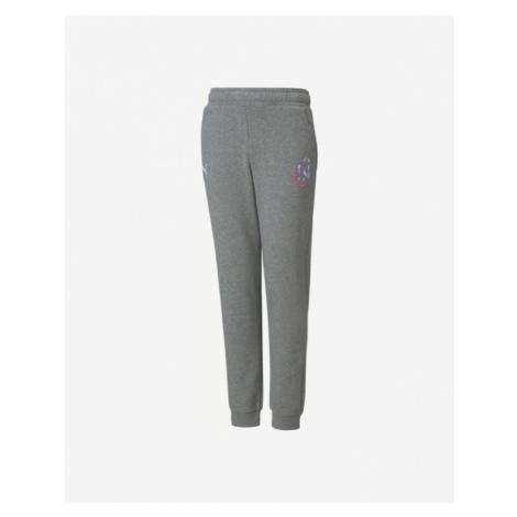 Grey boys' sports trousers