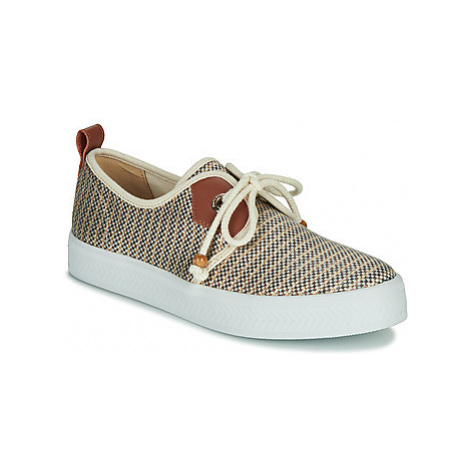 Armistice SONAR ONE women's Shoes (Trainers) in Gold