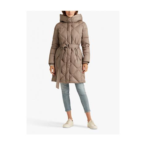 Lauren Ralph Lauren Diamond Quilt Belted Coat
