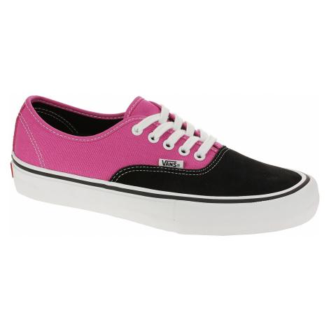 shoes Vans Authentic Pro - Black/Magenta - men´s