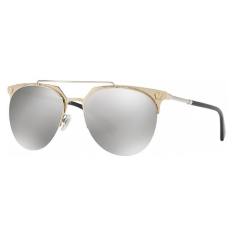 Versace Man VE2181 - Frame color: Gold, Lens color: Silver, Size 57-18/140