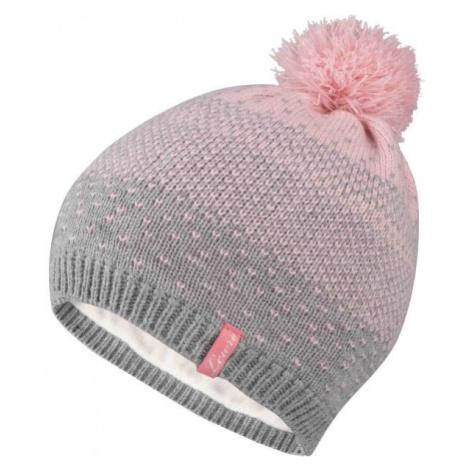 Lewro SINDY grey - Girls' knitted hat