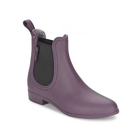 Be Only BOOTS BEATLE women's Wellington Boots in Purple