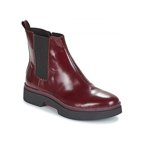 Geox D MYLUSE women's Mid Boots in Bordeaux