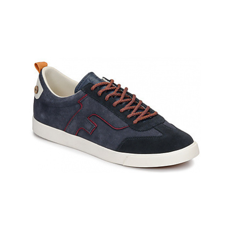 Faguo WELLINGTON SUEDE men's Shoes (Trainers) in Blue