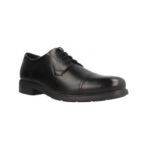 Geox U DUBLIN C men's Casual Shoes in Black