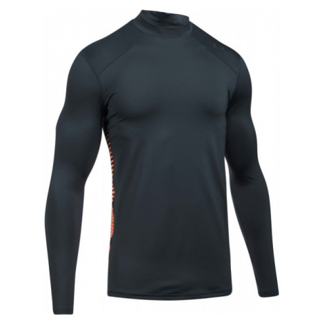 Under Armour UA CG REACTOR FITTED LS gray - Men's functional T-shirt