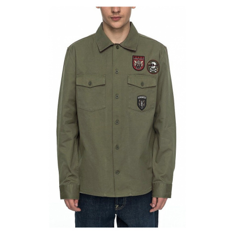 shirt DC Jedburgh 2 LS - GZJ0/Vintage Green