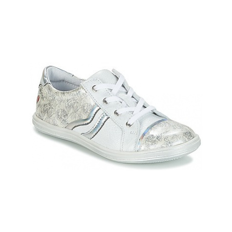 GBB SHARON girls's Children's Shoes (Trainers) in White