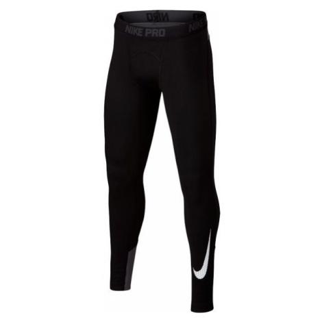 Nike WM TGHT GFX black - Boys' sports tights