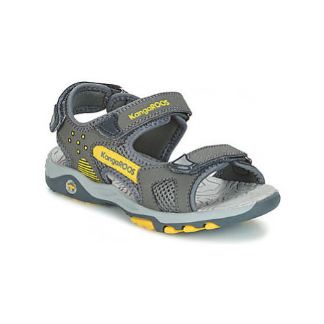 Kangaroos K-CELTIC girls's Children's Sandals in Grey