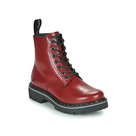 Art MARINA women's Mid Boots in Red